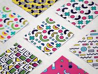 Freebie: 8-bit Memphis Patterns Pack