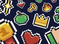Freebie: Mario Pixel Icon Collection