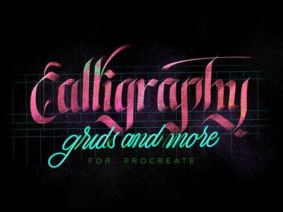Procreate Calligraphy Brushes download calligraphy precreate brush brushes pixelbuddha