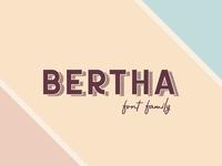 Freebie: Bertha Font Family