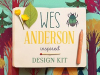 Wes Anderson Graphics Kit #2