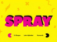 Freebie: Spray Art Graphics Toolkit