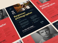 Freebie: Beginner Photographer Poster
