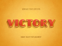 Retrica: Vintage Text Effects Pack #2