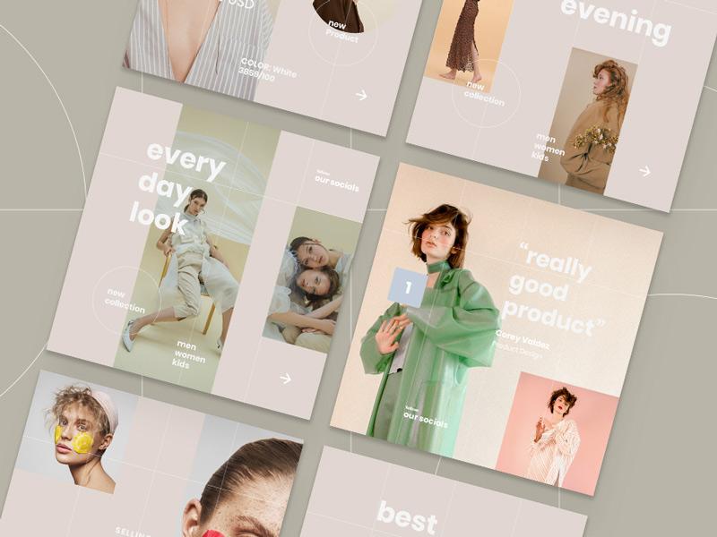 Freebie Vana Fashion Instagram Pack by Pixelbuddha on Dribbble