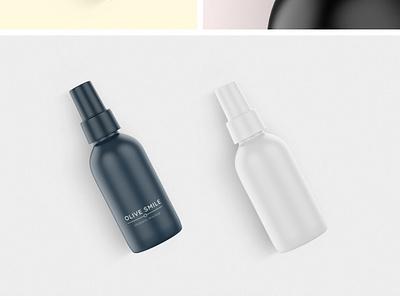 Cosmetic Travel Bottles Mockups cosmetic travel bottles bottle mockup mockups mockup cosmetic mockup plus pixelbuddha