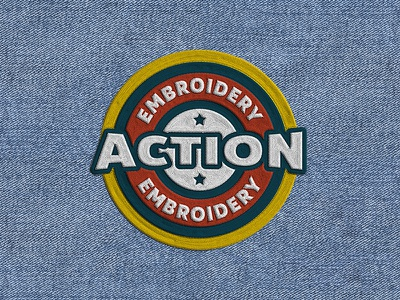 Embroidery Photoshop Action text effects aparel embroidery logo embroidery effect embroidery pixelbuddha photoshop action action