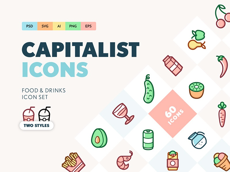Capitalist icons food