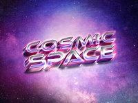 Back to the 80s Retro Text Effects #4