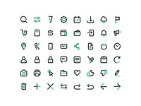 Freebie: E-commerce & Navigation Vector Icons Set