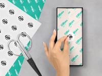 Paper Gift Box Mockup #2