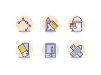 25 Design & Shapes Icons #3