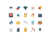 BasicBasic Flat Icons Set #3