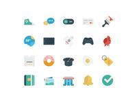 BasicBasic Flat Icons Set #4