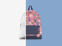 Backpack Mockup Set #3