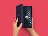 Paper Gift Box Mockup #5
