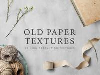 Freebie: Vintage Paper Textures Set
