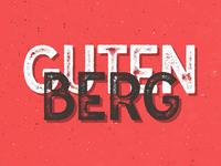 Freebie: Gutenberg Font Family