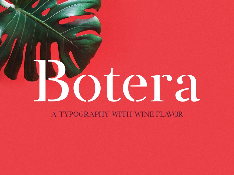 Freebie: Botera Stencil Font typography stencil serif modern typeface display font free freebie pixelbuddha