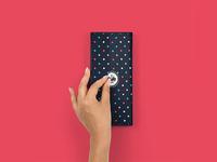 Paper Gift Box Mockup #6