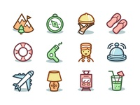 Freebie: Capitalist Vacation & Hotels Icons #2