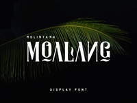 Freebie: Moalang Display Font