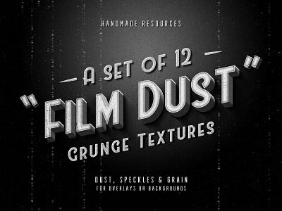 Freebie: Film Dust Grunge Textures overlays textures retro filt dust grunge texture vintage free freebie pixelbuddha