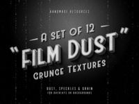 Freebie: Film Dust Grunge Textures