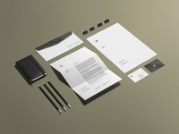 Freebie: Business Stationery Mockup