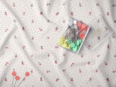 Freebie: Creased Fabric Mockup