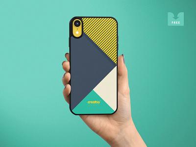 Freebie: iPhone XR Case Mockups showcase cover case iphone freebie template mockups mockup psd download free pixelbuddha