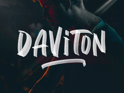 Daviton SVG Freestyle Font urban display pixelbuddha ligatures quotes handmade font brush typeface svg download