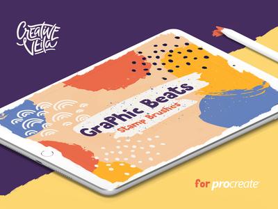 Graphic Beats Procreate Brushes