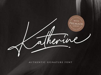 Katherine Signature Font font signature typeface handwriten script pixelbuddha fashion download