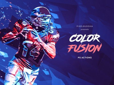 Color Fusion Photoshop Actions ps extension sport pixelbuddha photoshop action actions colors geometry download