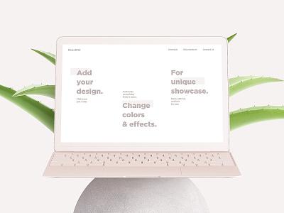 Scandi Vanilla MacBook & iMac Mockup Set showcase scandinavian psd mock-ups design mockup macbook imac download