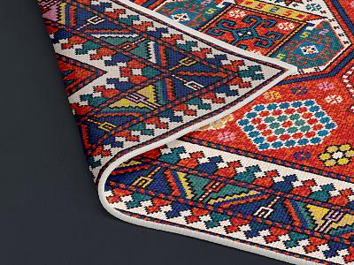 Woven Rug Mockup Set pattern material etsy print template mockup pixelbuddha mockups showcase woven rug download psd