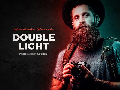 Double Light Photoshop Action download photoshop action effect double light double light photo pixelbuddha