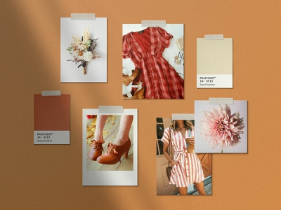 Realistic Mood Board Mockups moodboard mood mood board board digital brand tile style pinterest fashion instagram social media collage blog download