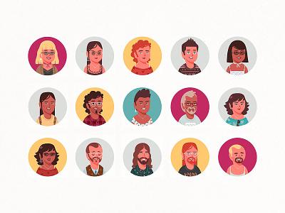 Persona Portrait Creator profile generator face avatar creator portrait pixelbuddha download
