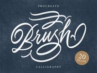 Procreate Calligraphy Brush