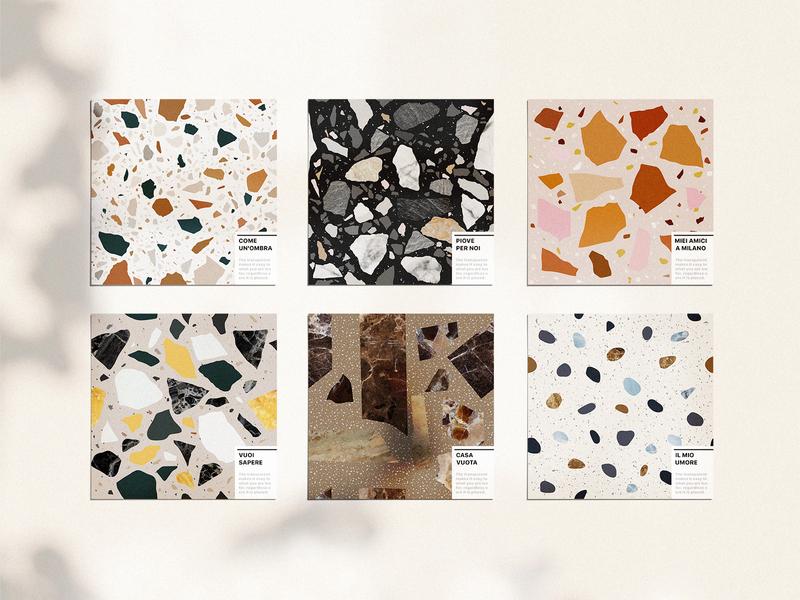 Terrazzo Seamless Patterns pattern vector modern abstract trend interior texture wallpaper background seamless pattern seamless terrazzo