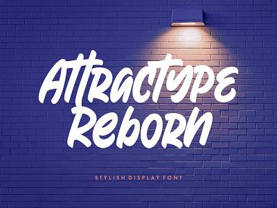 Freebie: Reborn Display Font poster handwritten display typeface font freebie free download pixelbuddha