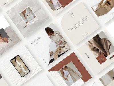 Waimea Social Media Kit fashion lifestyle elegant canva post social instagram template psd download pixelbuddha