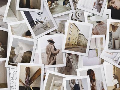 Realistic Mood Board Kit Vol.2 blog collage social media instagram fashion pinterest style tile brand digital board mood board mood moodboard download