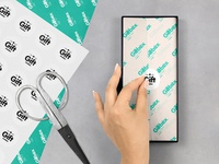 Paper Gift Box Mockup
