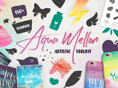 Aqua Mellon Artistic Toolkit