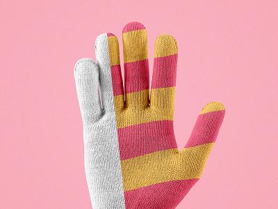 Winter Gloves Mockup Set gloves mockup winter showcase pattern mockups mock-up pixelbuddha design download psd