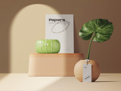 Fresh Scene Creator stationery showcase branding shadow paper tag mockups template psd mockup pixelbuddha