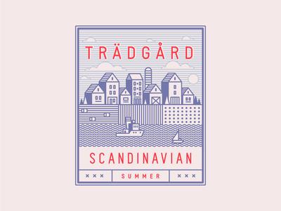 Scandinavian Summer Vector Set